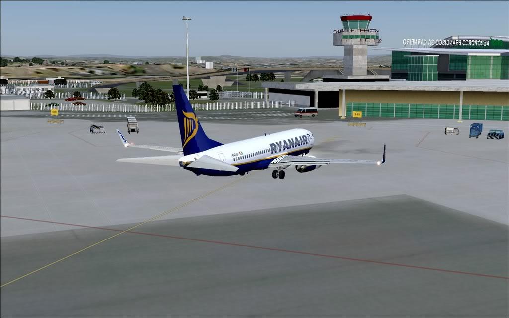 [FS9] - B737-800 Ryanair de Faro para Porto B738_Ryanair27