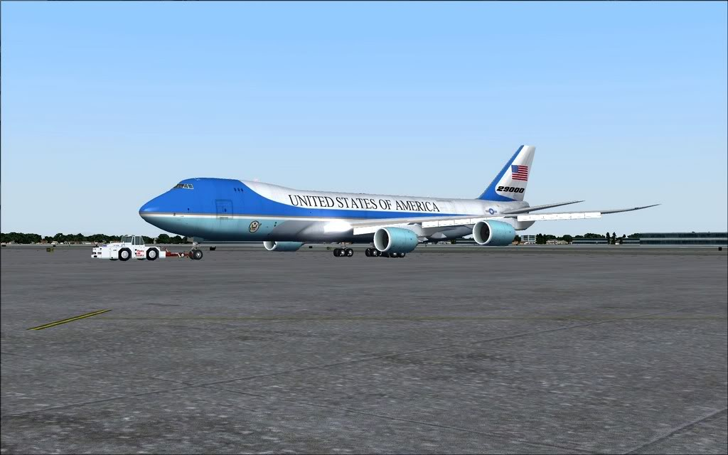 [FS9] Air Force One - B747-8F de Bangkok para Kuala Lumpur AFOne02