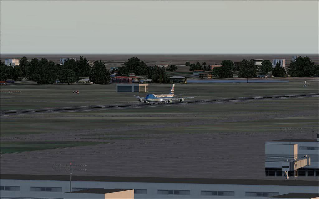 [FS9] Air Force One - B747-8F de Bangkok para Kuala Lumpur AFOne04