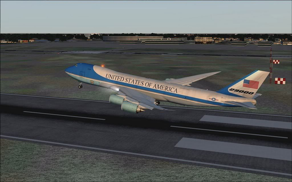 [FS9] Air Force One - B747-8F de Bangkok para Kuala Lumpur AFOne05