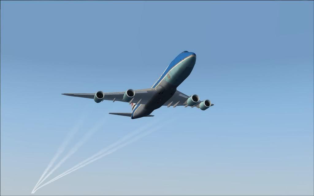 [FS9] Air Force One - B747-8F de Bangkok para Kuala Lumpur AFOne08