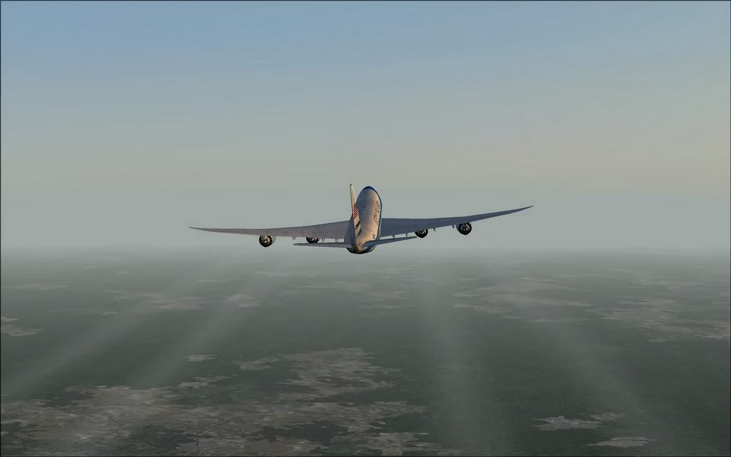[FS9] Air Force One - B747-8F de Bangkok para Kuala Lumpur AFOne09