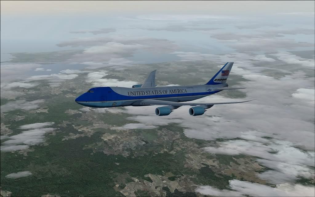 [FS9] Air Force One - B747-8F de Bangkok para Kuala Lumpur AFOne10