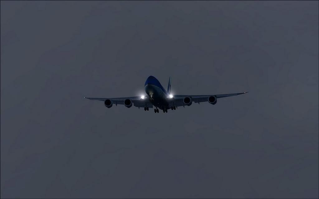 [FS9] Air Force One - B747-8F de Bangkok para Kuala Lumpur AFOne15