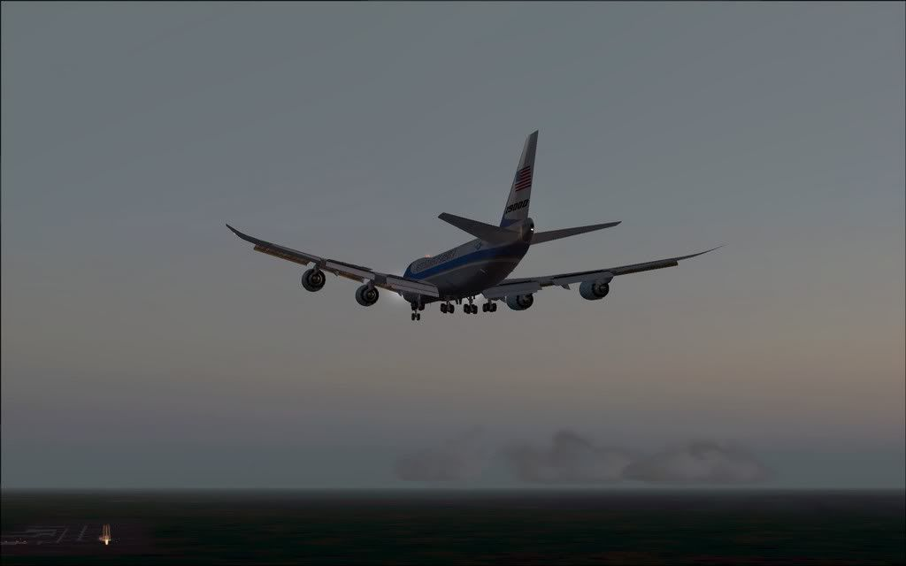 [FS9] Air Force One - B747-8F de Bangkok para Kuala Lumpur AFOne16