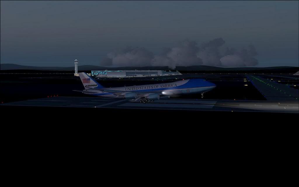 [FS9] Air Force One - B747-8F de Bangkok para Kuala Lumpur AFOne18