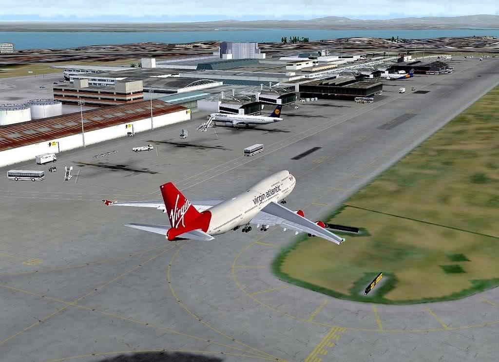 [FS9] B747-400 da Virgin - Voo de Lisboa para Faro Screenshot263