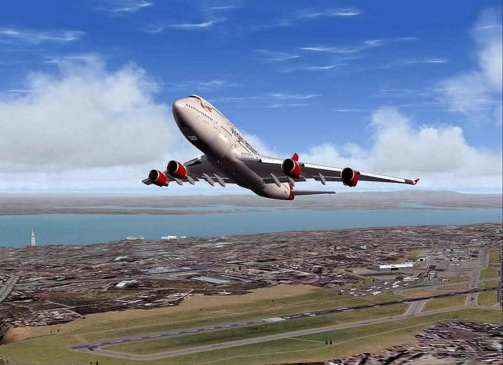 [FS9] B747-400 da Virgin - Voo de Lisboa para Faro Screenshot272