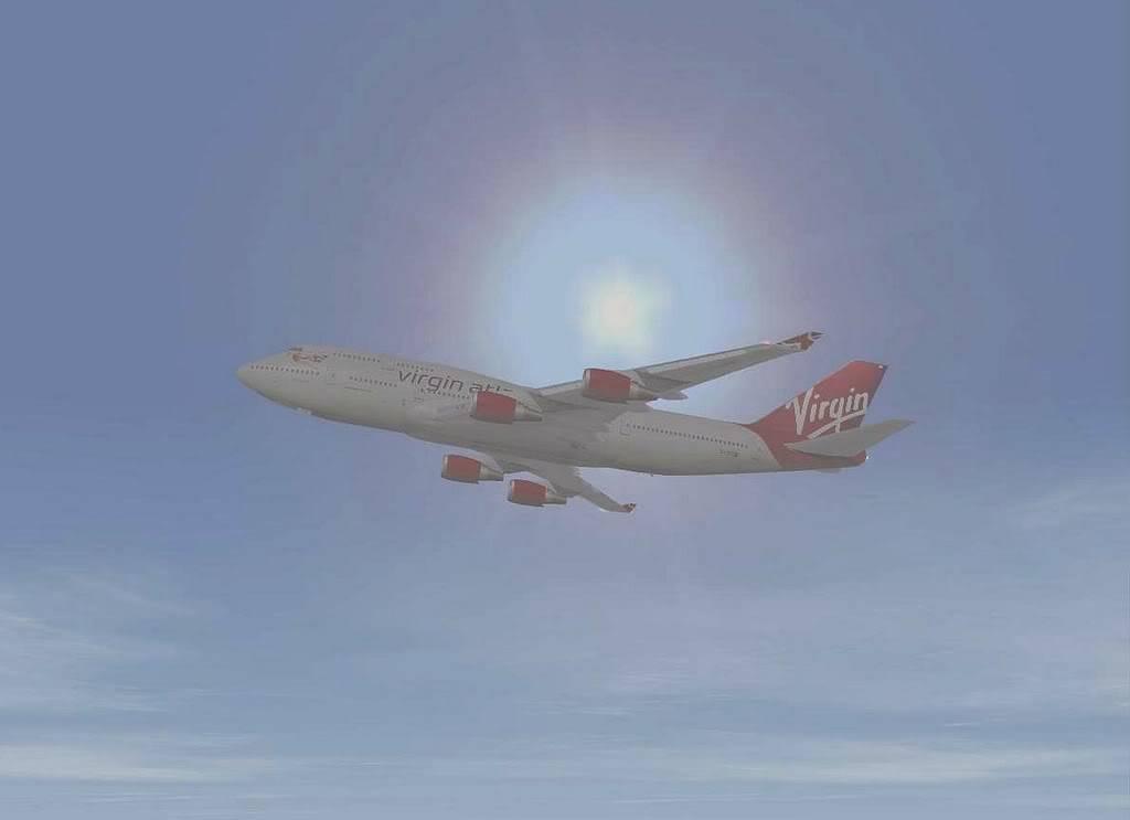 [FS9] B747-400 da Virgin - Voo de Lisboa para Faro Screenshot280