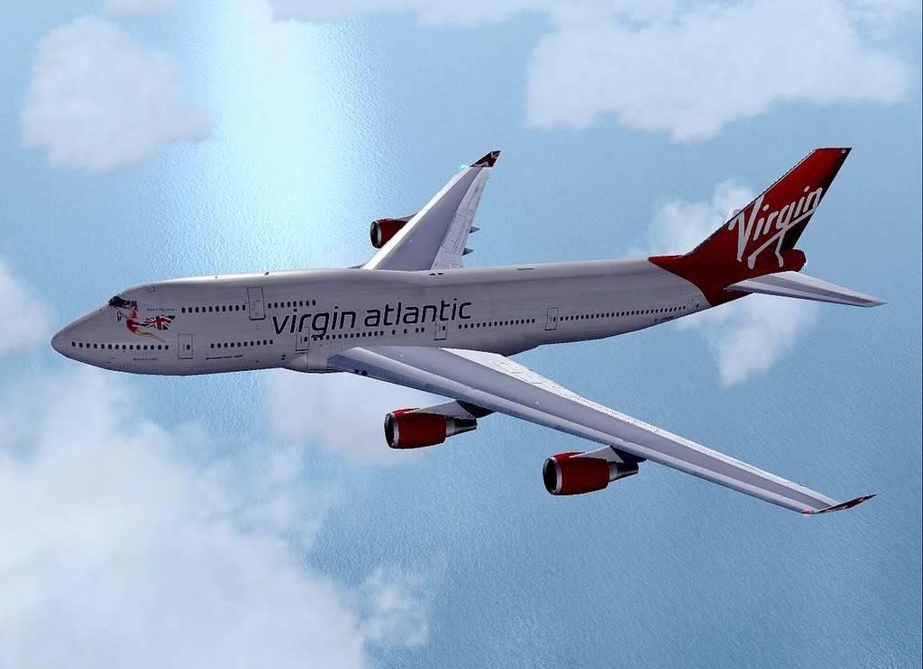 [FS9] B747-400 da Virgin - Voo de Lisboa para Faro Screenshot283