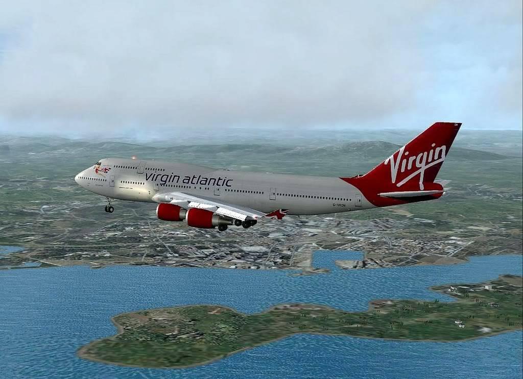 [FS9] B747-400 da Virgin - Voo de Lisboa para Faro Screenshot297