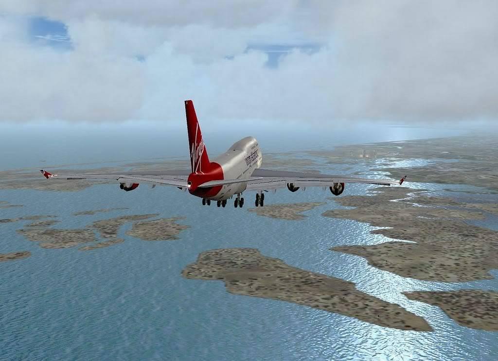 [FS9] B747-400 da Virgin - Voo de Lisboa para Faro Screenshot298