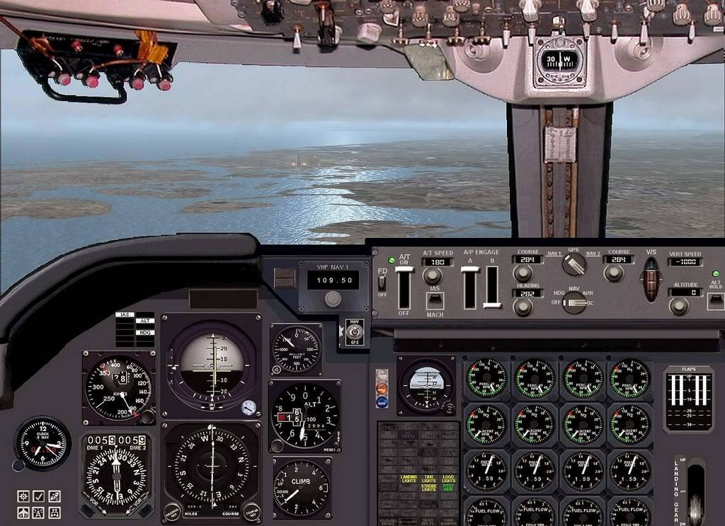 [FS9] B747-400 da Virgin - Voo de Lisboa para Faro Screenshot299