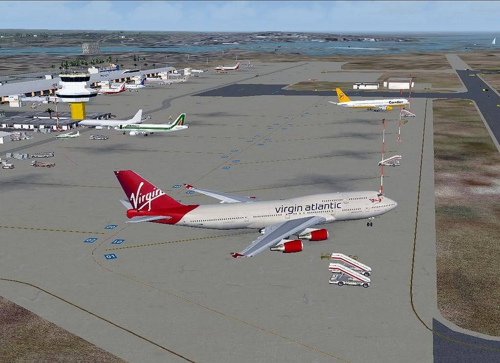 [FS9] B747-400 da Virgin - Voo de Lisboa para Faro Screenshot302