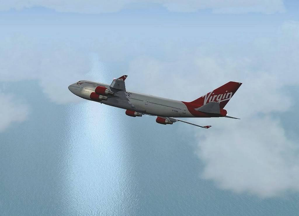 [FS9] B747-400 da Virgin - Voo de Lisboa para Faro Screenshot304