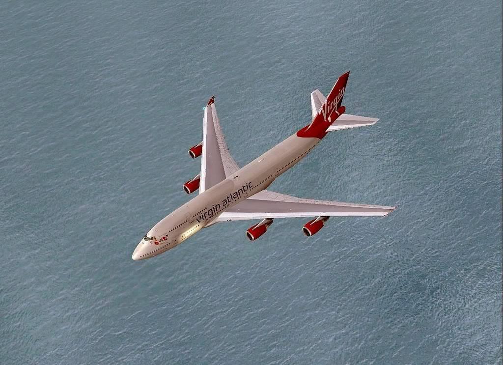 [FS9] B747-400 da Virgin - Voo de Lisboa para Faro Screenshot305