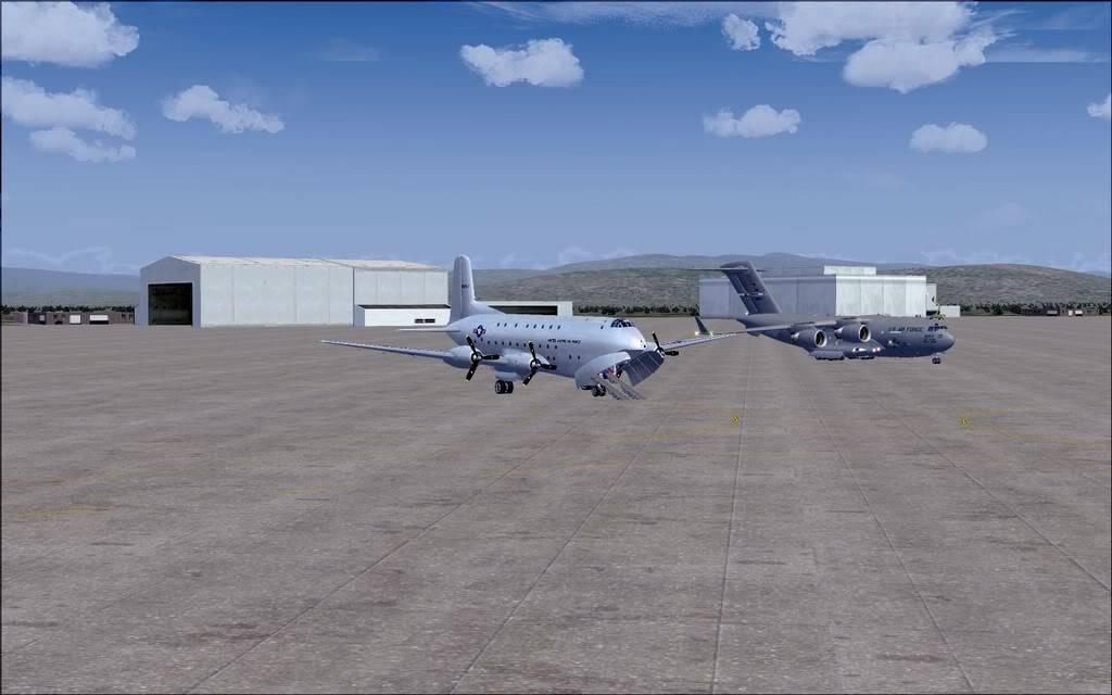 [FS9] - Voo com o Boeing C-17 Globemaster entre Travis AB e Beale AB C1701