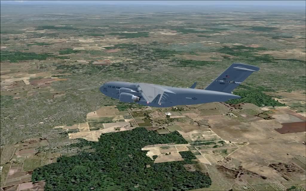 [FS9] - Voo com o Boeing C-17 Globemaster entre Travis AB e Beale AB C1706