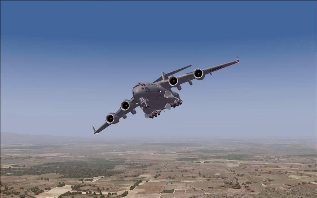 [FS9] - Voo com o Boeing C-17 Globemaster entre Travis AB e Beale AB C1710