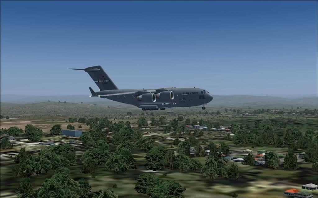 [FS9] - Voo com o Boeing C-17 Globemaster entre Travis AB e Beale AB C1715