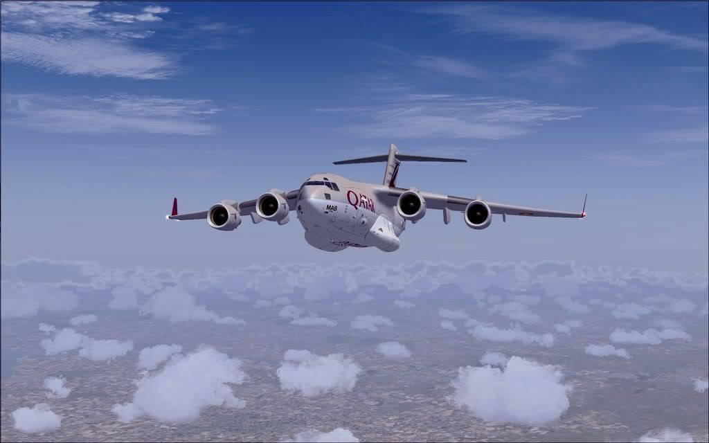 [FS9] - Voo com o Boeing C-17 Globemaster entre Travis AB e Beale AB C1720