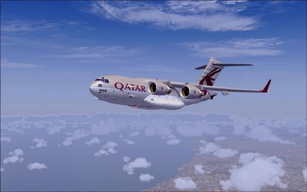 [FS9] - Voo com o Boeing C-17 Globemaster entre Travis AB e Beale AB C1721