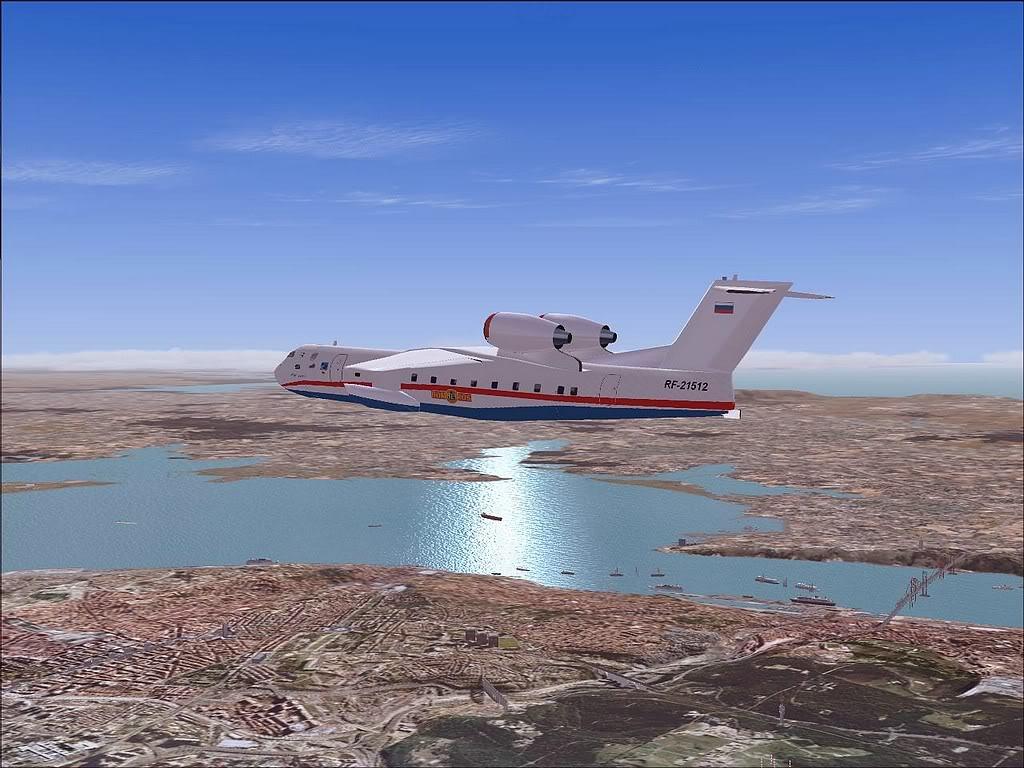 """[FS9] - Be-200 """"Pássaro do Mar"""" -  do Serviço Nacional de Bombeiros Beriev200_SNBPC02"""