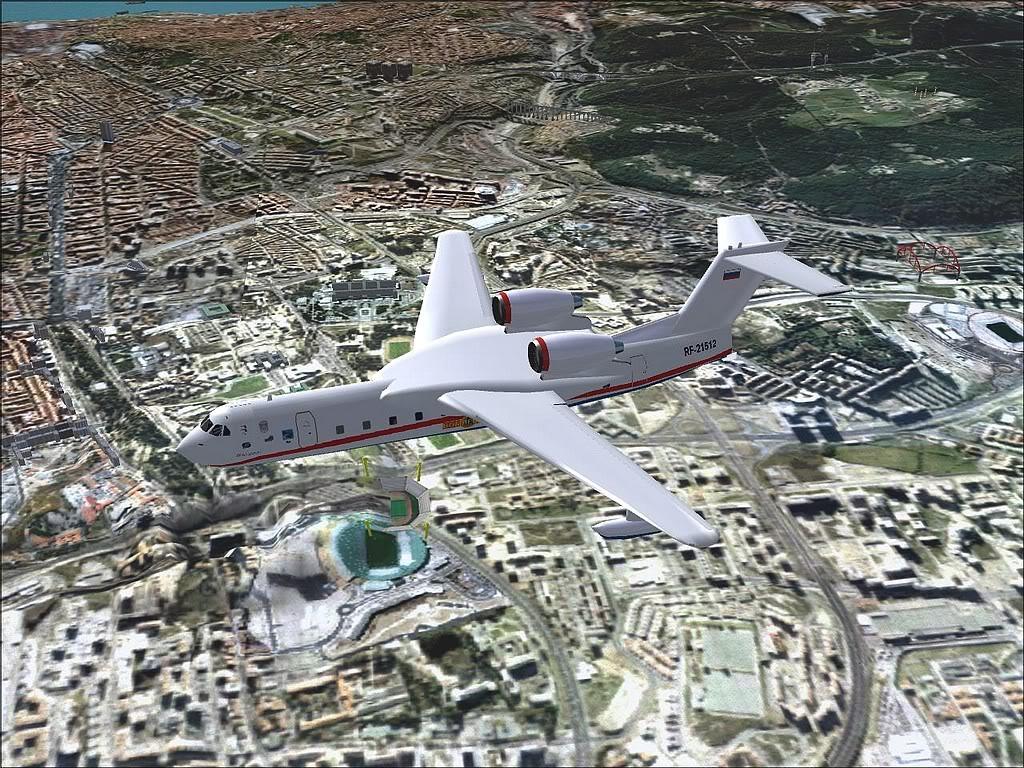 """[FS9] - Be-200 """"Pássaro do Mar"""" -  do Serviço Nacional de Bombeiros Beriev200_SNBPC03"""