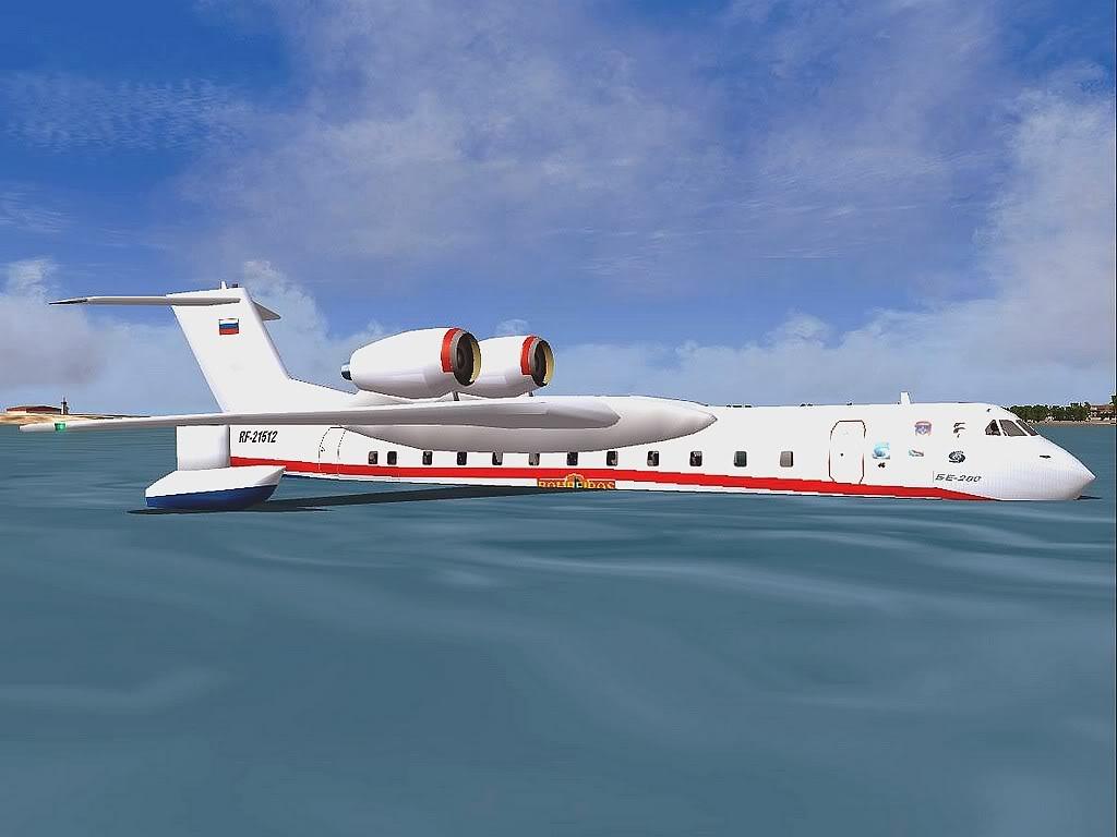 """[FS9] - Be-200 """"Pássaro do Mar"""" -  do Serviço Nacional de Bombeiros Beriev200_SNBPC05"""