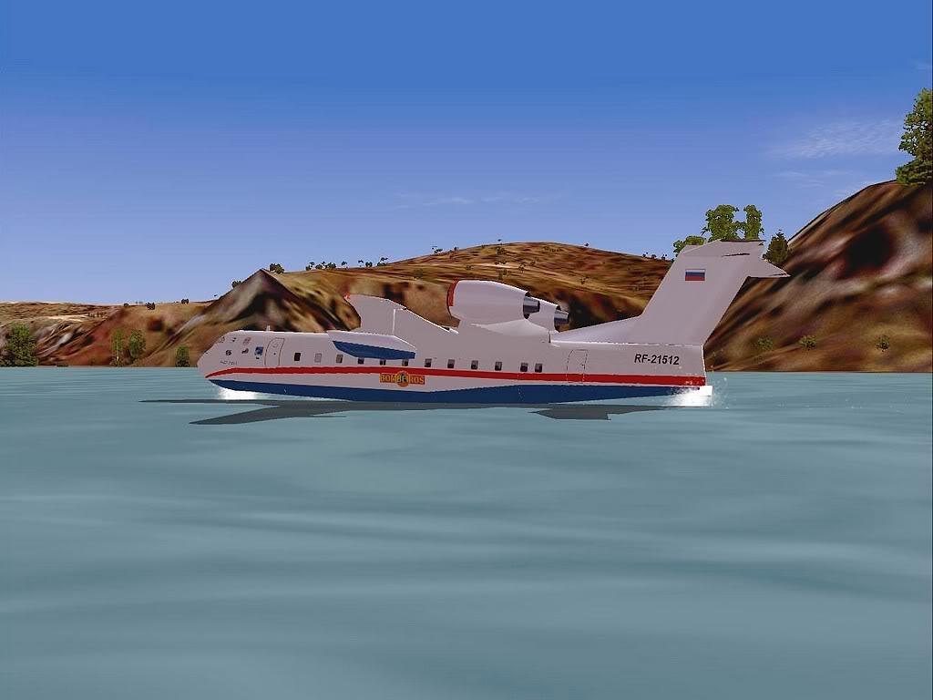 """[FS9] - Be-200 """"Pássaro do Mar"""" -  do Serviço Nacional de Bombeiros Beriev200_SNBPC06"""