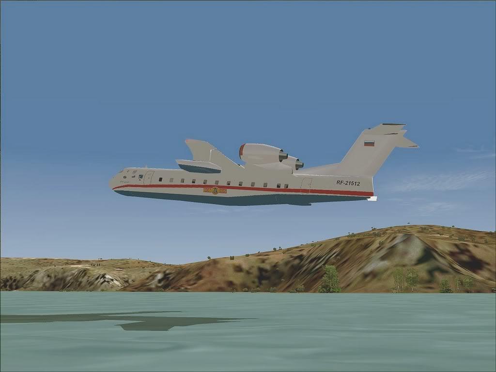 """[FS9] - Be-200 """"Pássaro do Mar"""" -  do Serviço Nacional de Bombeiros Beriev200_SNBPC08"""