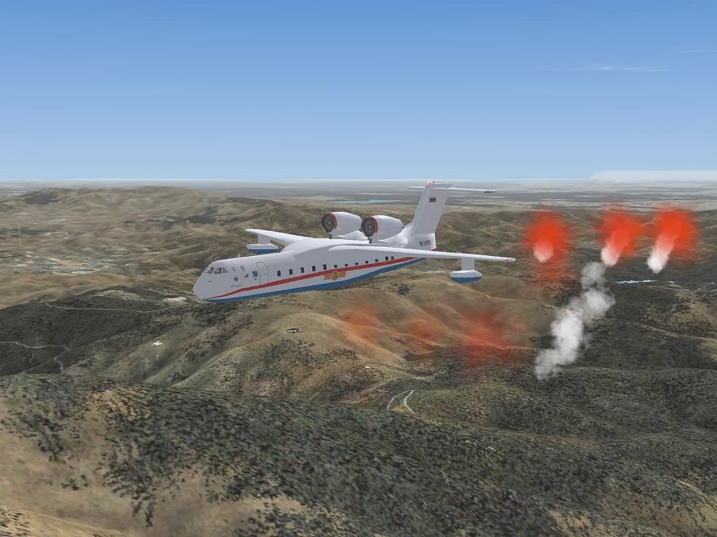 """[FS9] - Be-200 """"Pássaro do Mar"""" -  do Serviço Nacional de Bombeiros Beriev200_SNBPC11"""