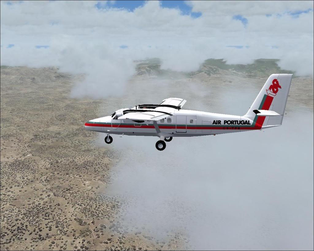 [FS9] - A TAP voando pelo Nordeste Brasileiro DH6_TAP01