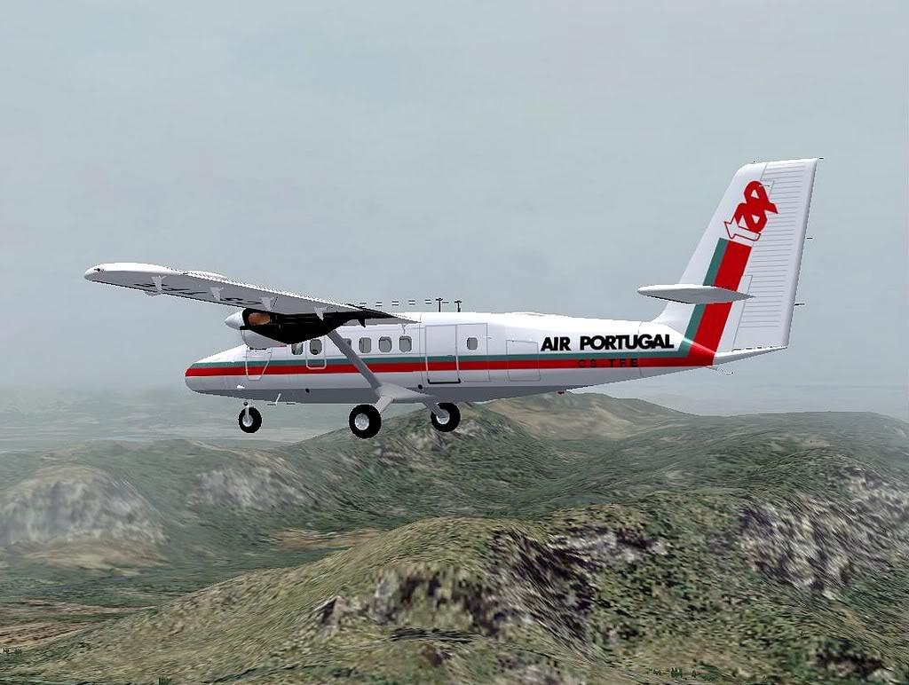 [FS9] - A TAP voando pelo Nordeste Brasileiro DH6_TAP02