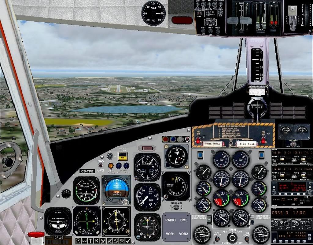 [FS9] - A TAP voando pelo Nordeste Brasileiro DH6_TAP04