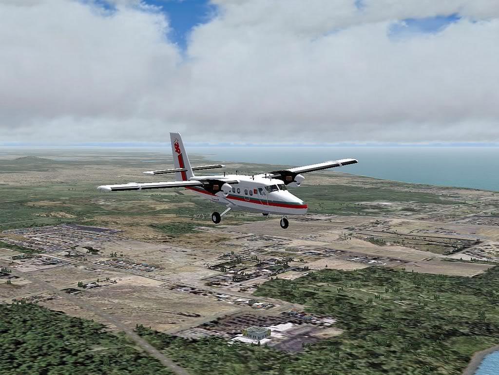 [FS9] - A TAP voando pelo Nordeste Brasileiro DH6_TAP05