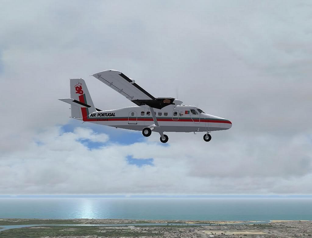 [FS9] - A TAP voando pelo Nordeste Brasileiro DH6_TAP06