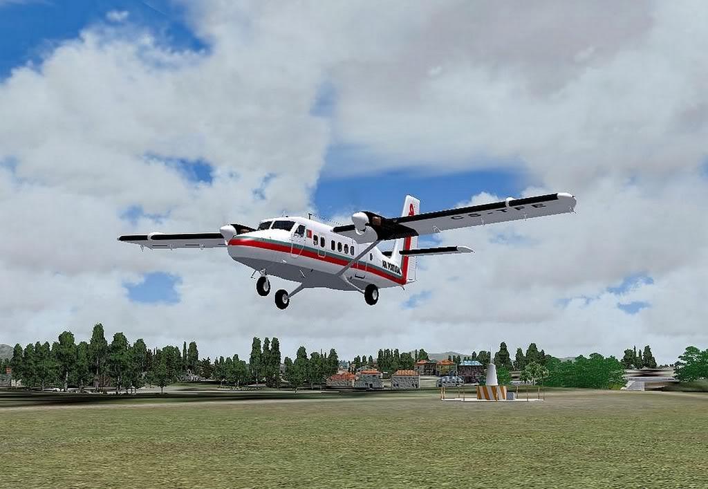 [FS9] - A TAP voando pelo Nordeste Brasileiro DH6_TAP07