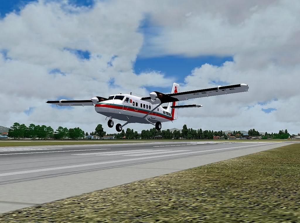 [FS9] - A TAP voando pelo Nordeste Brasileiro DH6_TAP08