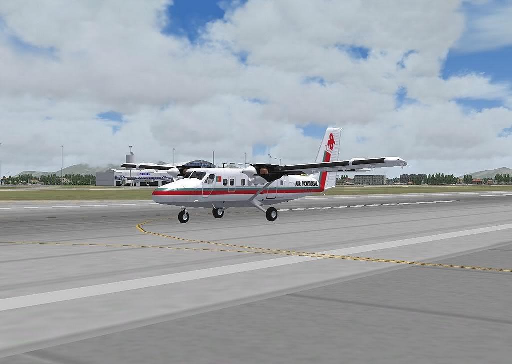 [FS9] - A TAP voando pelo Nordeste Brasileiro DH6_TAP09