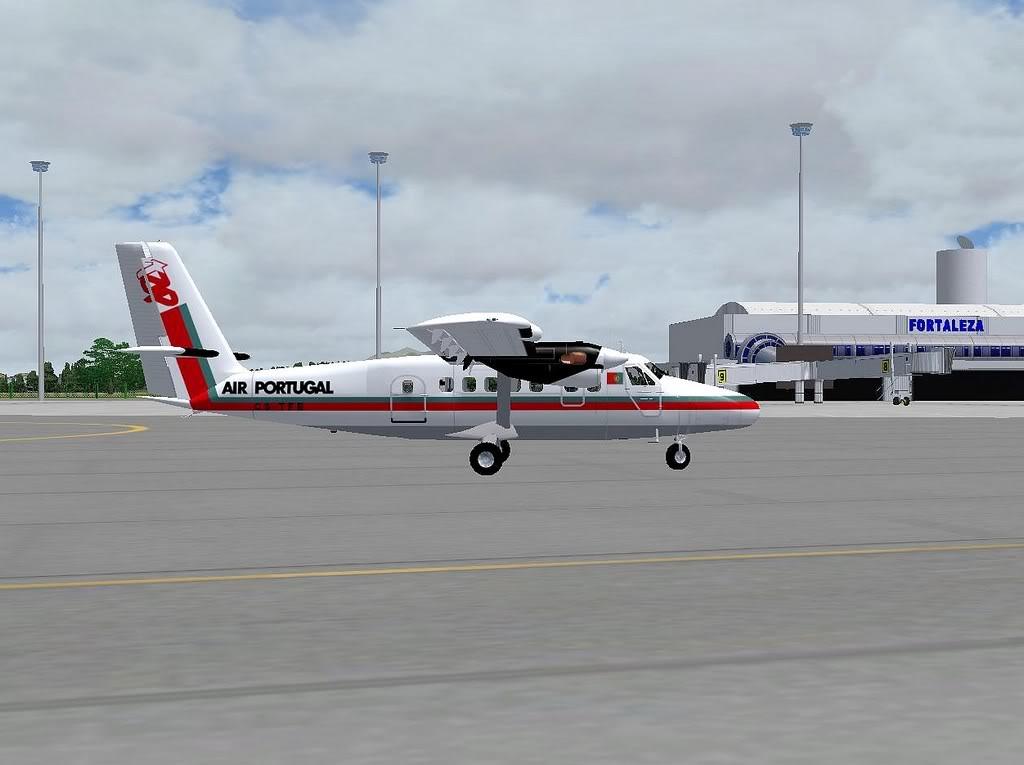 [FS9] - A TAP voando pelo Nordeste Brasileiro DH6_TAP10