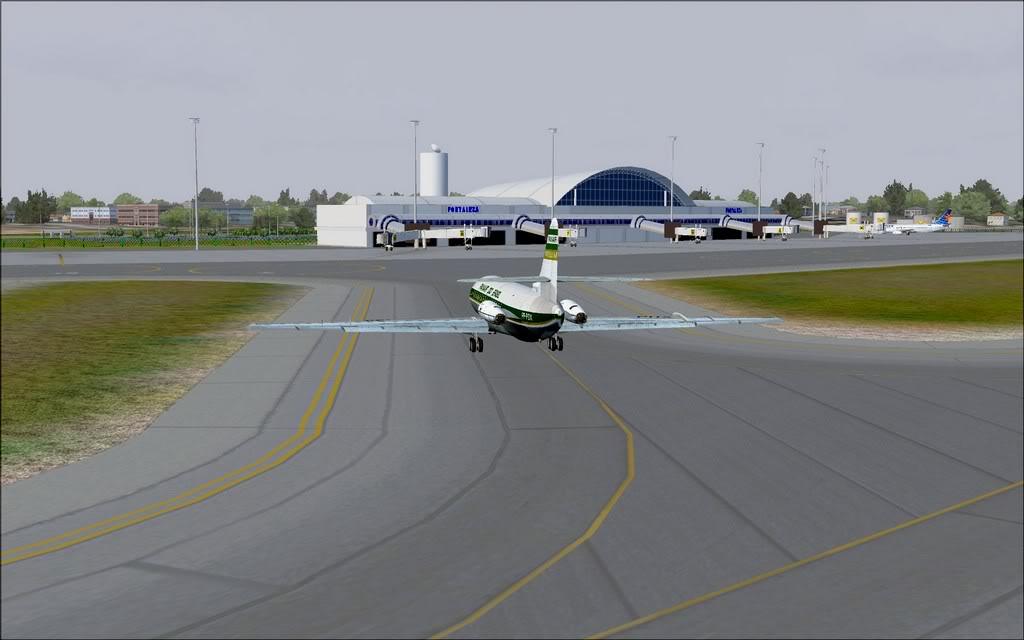 [FS9] - Chegada a Fortaleza do Caravelle da Panair Caravele_Panair18