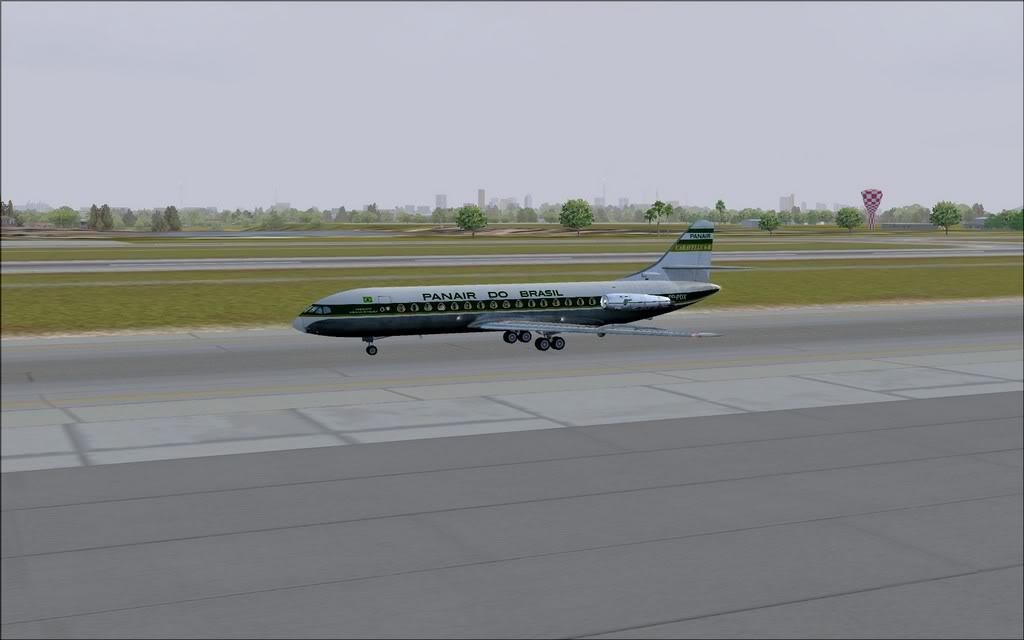 [FS9] - Chegada a Fortaleza do Caravelle da Panair Caravele_Panair20