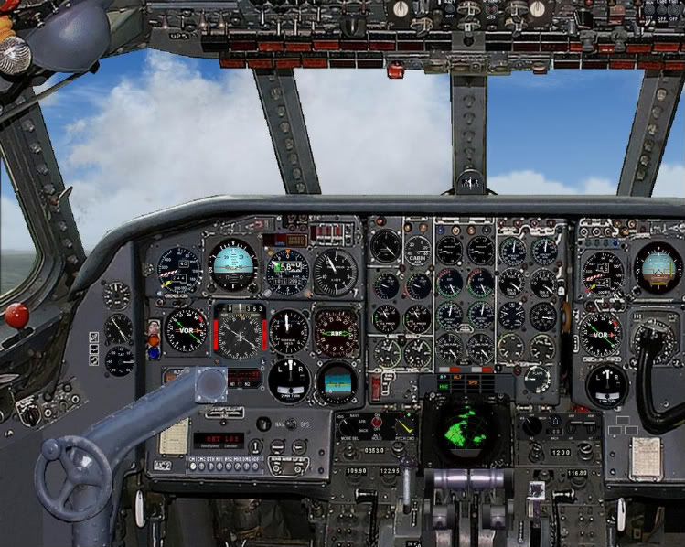 [FS9] - Sud Aviation Caravelle III de Lyon para o Porto Caravelle_AF09-1