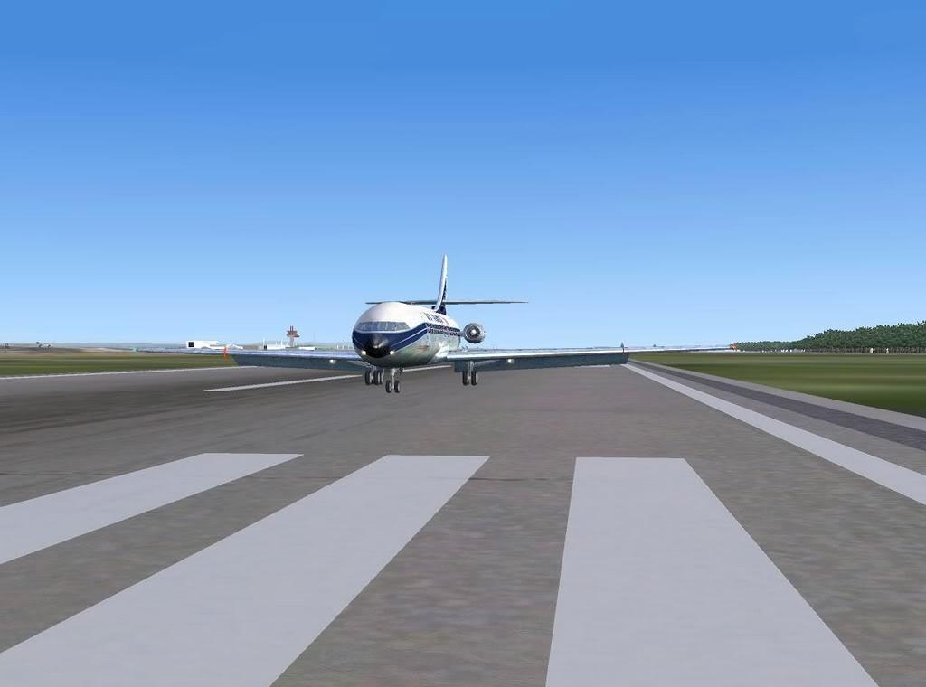 [FS9] - Sud Aviation Caravelle III de Lyon para o Porto Caravelle_AF18