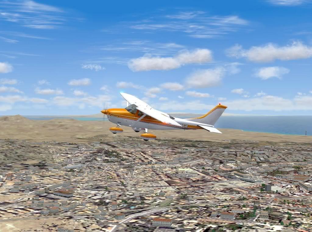 [FS9] - De Fuerteventura a Gran Canaria em Cessna Cessna_Canarias04