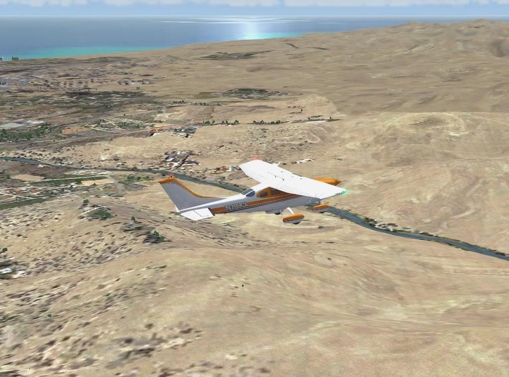 [FS9] - De Fuerteventura a Gran Canaria em Cessna Cessna_Canarias06