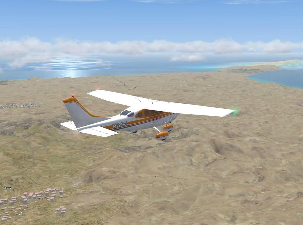 [FS9] - De Fuerteventura a Gran Canaria em Cessna Cessna_Canarias07