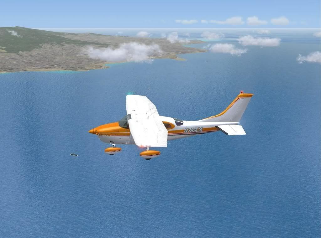 [FS9] - De Fuerteventura a Gran Canaria em Cessna Cessna_Canarias10