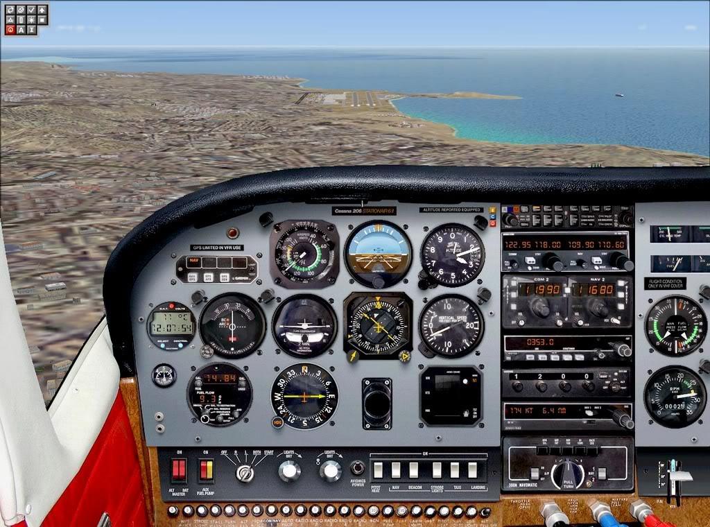 [FS9] - De Fuerteventura a Gran Canaria em Cessna Cessna_Canarias11